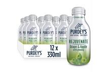 Purdey's Natural Energy Rejuvenate Grape & Apple with Ginseng 330ml