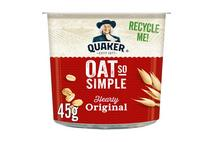 Quaker Oats Oat So Simple Original Porridge Pot 50g