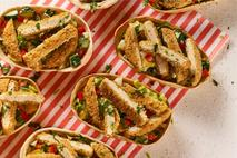 Quorn Spicy Southern Fried Style Escalopes