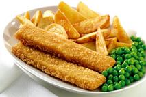 M&J Seafood Omega 3 Battered MSC Cod Fish Finger