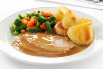 Brakes Sliced Roast Pork in Gravy