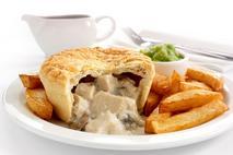 Brakes Chicken & Mushroom Pie