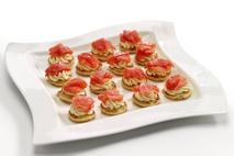 M&J Seafood Smoked Salmon Blinis