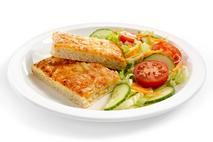 Brakes Healthier Choices Cheese and Tomato Pizza Slabs