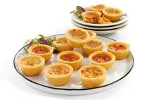 Brakes Vegetarian Party Quiche Assortment