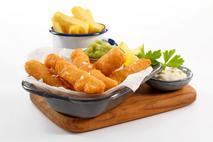 M&J Seafood Battercrisp MSC Cod Goujons  (skinless, boneless)