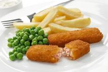 M&J Seafood Omega 3 Breaded MSC Alaska Salmon Fish Finger