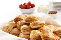 "Brakes 1 ½"" Fully Baked Buffet Pork Sausage Rolls"