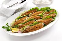 M&J Seafood Scottish Hot Smoked Mackerel Fillets.