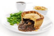 Brakes Fully Baked Steak, Mushroom and Irish Stout Square Pies
