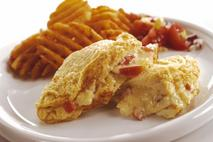 Brakes Folded Cheese & Tomato Omelettes