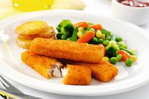 M&J Seafood Omega 3 Breaded MSC Cod Fillet Fish Finger