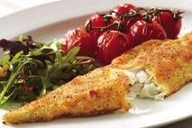 M&J Seafood Lemon & Pepper Lightly Breaded MSC Haddock  (skinless, boneless) Full Fillet