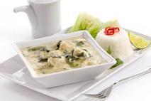 Brakes Thai Green Chicken Curry