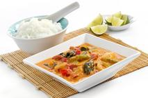 Brakes Red Thai Vegetable Curry