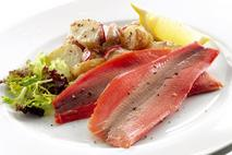 M&J Seafood Smoked trout fillets