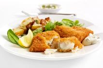 M&J Seafood MSC Alaska Pollack Fillet Portions with Smartcrumb (skinless, boneless)
