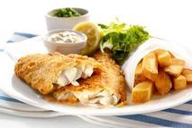 M&J Seafood Battercrisp MSC Haddock Fillets (skin on, boneless)
