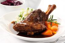 Brakes Lamb Shank in Red Wine & Rosemary Sauce
