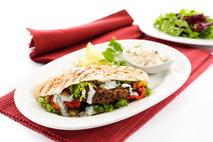 Brakes Falafel & Spinach Burgers