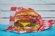 Big Al's Fully Cooked 4oz Beefburgers 24 x 90g (2.16kg)