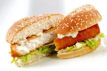 M&J Seafood Omega 3 MSC Alaska Pollock Fishwich
