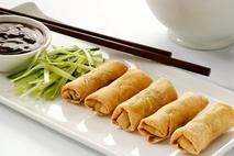 Brakes Mini Duck & Hoisin Spring Rolls