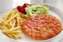 """Brakes Tomato & Cheese Pizzas 5"""""""