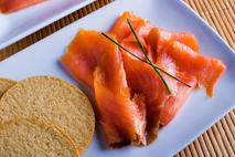 Tarbert Smoked Scottish Salmon Slices (skin-on)