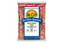 McCain Menu Signatures Southern Fried Lattice Fries 2kg