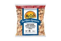 McCain Menu Signatures Southern Fried Flavoured Potato Wedges 2.5kg