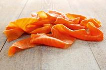 M&J Seafood Long Sliced Oak Smoked Salmon (skinless, boneless)