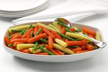 Baby Carrot, Green Bean & Baby Corn Medley