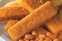 Youngs 60 Cod Minced Fish Fingers MSC 25g