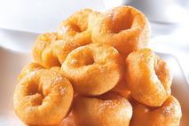 Kitchen Range Mini Sugared Ring Doughnuts