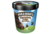 Ben & Jerry's Fairtrade Chocolate Fudge Brownie Ice Cream
