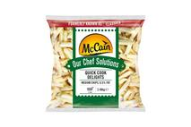 McCain Chef Solutions Quick Cook Delights Medium Cut 7/16 Chips