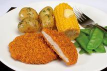Green Gourmet Breaded Chicken Grill 60g