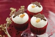 Country Choice Snowman Cupcakes