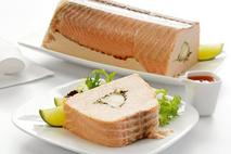Brakes Poached Salmon & Monkfish Terrine