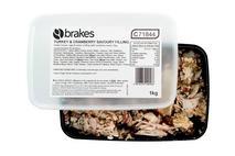 Brakes Turkey, Stuffing & Cranberry Filling