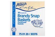 Askeys Catering Pack 90 Brandy Snap Baskets