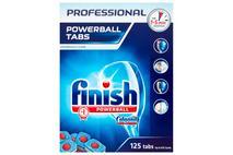 Finish Professional Original 125 Dishwasher Tablets 2330g