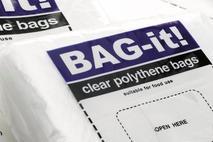 """Clear Polythene Food Bags 7x9"""" /17.7x22.8cm"""