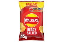 Walkers Ready Salted Grab Bag Crisps 50g