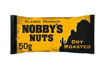 Nobby's Nuts Classic Dry Roasted Peanuts 50g