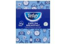 Tetley English Breakfast String & Tag Teabags