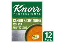 Knorr 100% Soup Carrot & Coriander 12 Portions