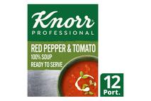 Knorr Professional 100% Soup Red Pepper & Tomato 12 Portions