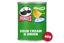 Pringles Sour Cream & Onion Pop & Go